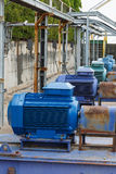 Factory equipment motor industrial. Factory equipment and motor industrial royalty free stock photography