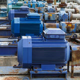 Factory equipment  motor industrial Royalty Free Stock Photography