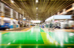 The factory floor Royalty Free Stock Photography