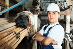 Factory foreman Stock Image