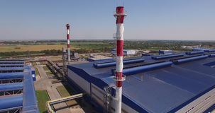 Factory stock video footage