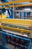 Factory: galvanization department Stock Photos