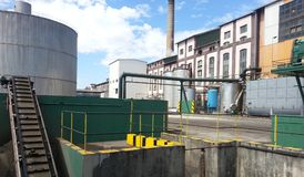 Factory Grounds Royalty Free Stock Image