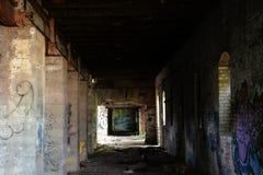 Factory hallway Stock Photos