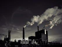 Smoking factory Stock Photo