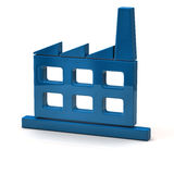 Factory icon Royalty Free Stock Photo