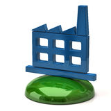 Factory icon Royalty Free Stock Image