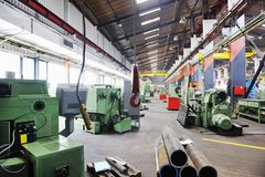 Factory indoor Royalty Free Stock Photo