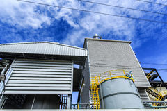 The Factory. Industrial plants that have environmental management systems in the provinces of Thailand Stock Photography