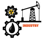 Factory,industry and business design Stock Image