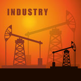 Factory,industry and business design Royalty Free Stock Photos
