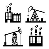 Factory,industry and business design Royalty Free Stock Photo