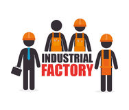 Factory and industry plant equipment Royalty Free Stock Photos
