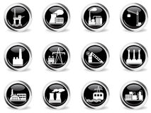Factory and Industry Symbols Stock Photos
