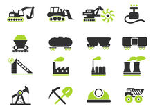 Factory and Industry Symbols Stock Photo