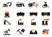Factory and Industry Symbols Stock Photography