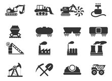 Factory and Industry Symbols Royalty Free Stock Image