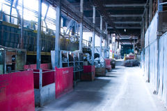 Factory Interior Stock Image