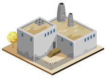 Factory Isometric Stock Images