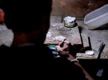 Factory jewel master Royalty Free Stock Photo
