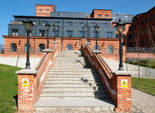 Factory legacy Scheibler. Stock Image