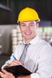 Factory manager Stock Image