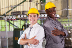 Factory manager worker Royalty Free Stock Images