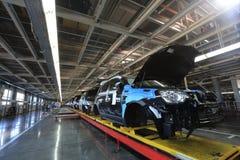 Factory manufacturing. Car factory manufacturing, Kaliningrad, Russia Stock Photos
