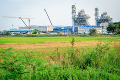 Factory near field Royalty Free Stock Images
