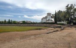Factory near the roman circus Stock Photography