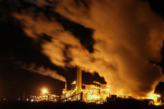 Factory in New Mexico Stock Image