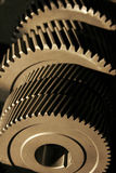 Factory newly manufactured gears Stock Image
