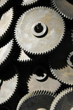 Factory newly manufactured gears Royalty Free Stock Photography