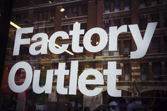 Factory Outlet Royalty Free Stock Image