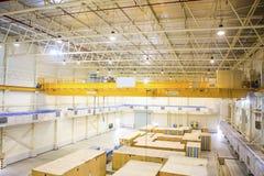 Factory overhead crane Stock Photography