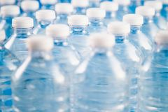 Factory For Plastic Bottle Recycling And Processing Royalty Free Stock Photos