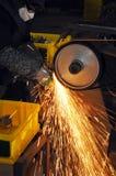Factory polishing workshop Stock Photo