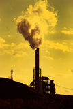 Factory pollution Royalty Free Stock Image