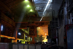 Factory premises Stock Images