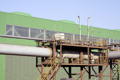 Factory premises Stock Photo