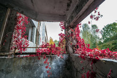 Factory in Pripyat Stock Photography