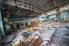 Factory in Pripyat Royalty Free Stock Images