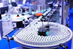 Factory for the production of medicines Stock Images