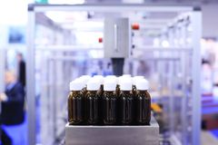 Factory for the production of medicines Stock Photos