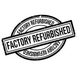 Factory Refurbished  rubber stamp Stock Photo