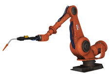 Factory Robot Royalty Free Stock Image