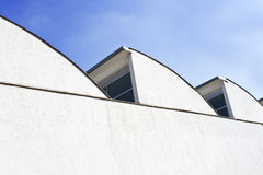 Factory roof detail Royalty Free Stock Photo