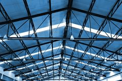 Factory roof Stock Photography