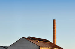 Factory roof Stock Images