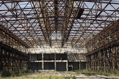 Factory ruin Stock Photos